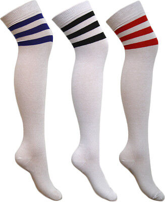 Hilfreich Ladies Over Knee, Knee High & Ankle Socks 118 118 Sports Referee Style Hen Night