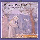 Hermann Hans Wetzler: Visionen Op. 12; Assisi Op. 13 (CD, Oct-2009, CPO)