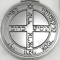 Talisman Of Jupiter Solomon Pentacle Seal Good Luck Wealth Pendant Necklace