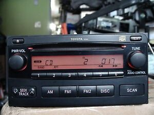 Image Is Loading Toyota Matrix 2004 2008 Cd Player Radio By