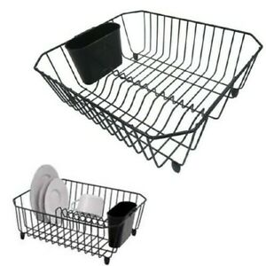 In Sink Dish Drying Rack Small Compact Drainer Tray