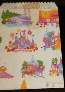 Disneyland-Souvenir-Shopping-Bag-Paper-Receipt-1986-Walt-Disney-Productions