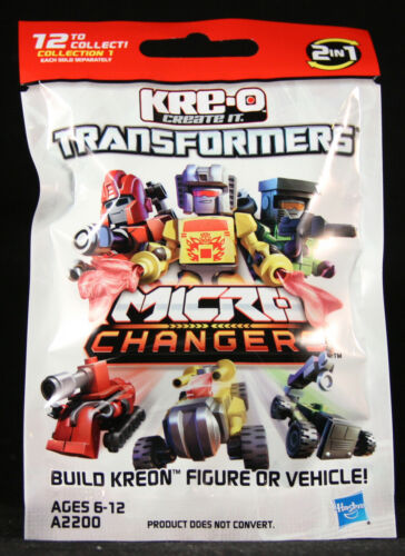 KRE-O Transformers Serie 1 minifigures Micro-Changers 2-in-1 bustina singola NEW