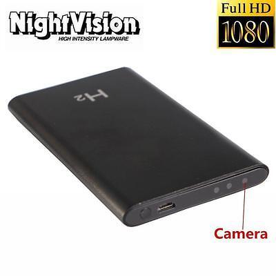 1080P HD DVR Hidden Night Vision Camera Mobile Power Bank Video Recorder Cam