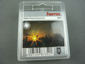 HAMA-GLITTER-CROSS-SCREEN-8x-M52-87352