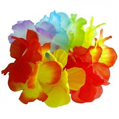 50 Stück Blumenarmband Blumenketten Hawaiikette Hawaii Ketten Armband Haarband