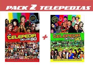 PACK 2 TELEPEDIAS: TELEPEDIA 90S + TELEPEDIA 80S
