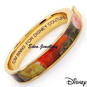 Disney-Couture-Alice-in-Wonderland-TOM-BINNS-Talking-Flower-Bracelet-C-Necklace