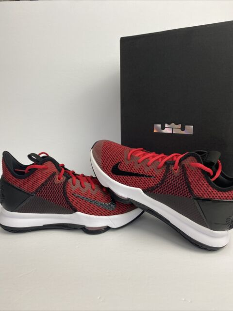 Nike Lebron James Slides Youth Red