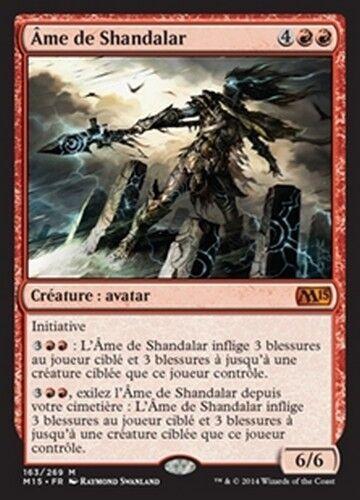 French//VF Soul of Shandalar//Ame de Shandalar MTG Magic M15