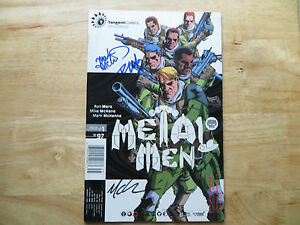 1997-DC-METAL-MEN-1-SIGNED-3X-MARK-MCKENNA-MIKE-MCKONE-amp-RON-MARZ-WITH-POA