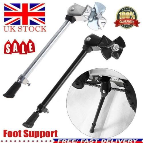 Mountain Bike Bicycle Kick Stand Adjustable Rubber Foot Heavy Duty Prop UK STOCK