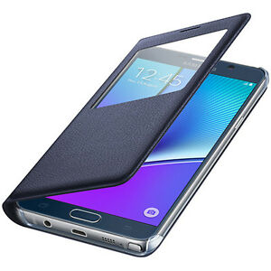 S-VIEW-FLIP-CASE-COVER-amp-WINDOW-GUARD-FOR-VARIOUS-SAMSUNG-GALAXY-PHONES