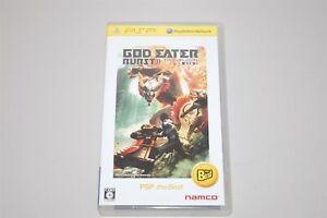 God Eater Burst Japan Sony PSP game