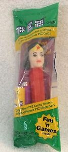 Pez Wonder Woman Candy Dispenser Toy Brand New Sealed