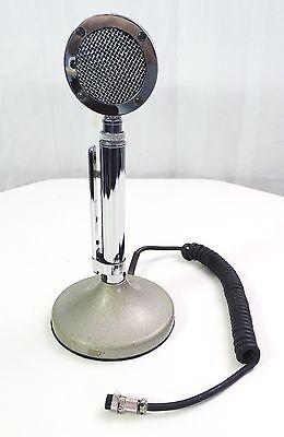 ASTATIC D-104 CB OR HAM RADIO MICROPHONE DESK BASE MIC D104 OLD VINTAGE