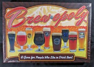 Details about NEW Brewopoly Beer Lovers Board Game Late For The Sky FACTORY  SEALED Made In USA