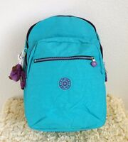 Kipling Seoul Large Backpack With Laptop Protection Cool Turquoise
