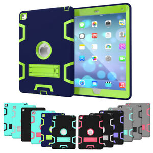 Shockproof Case Kids Hard Stand Cover for iPad 2/3/4 9.7 2018 6th Gen Mini Air 2