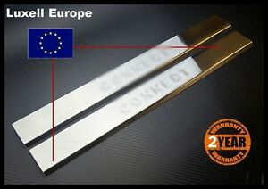 02-2013-Ford-Transit-Tourneo-Connect-Chrome-Door-Sill-Scratch-Guard-2Dr-S-STEEL