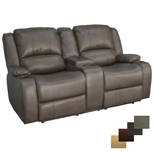 Recpro Charles 67 Quot Powered Double Rv Wall Hugger Recliner