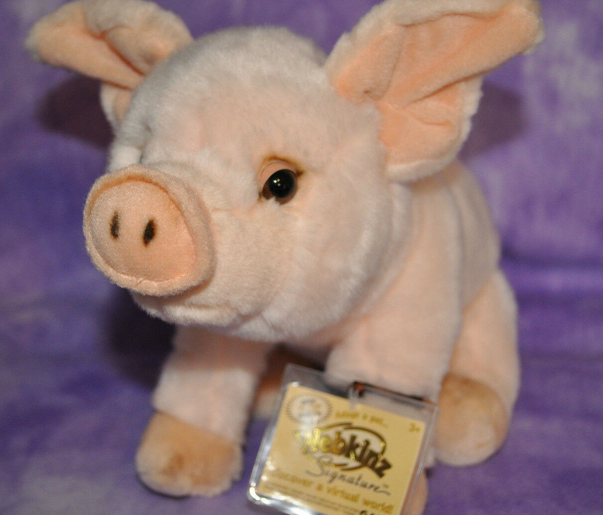 Webkinz Signature Rosa PIG  Brand NWT No Longer Made FAST SHIP  Wilbur