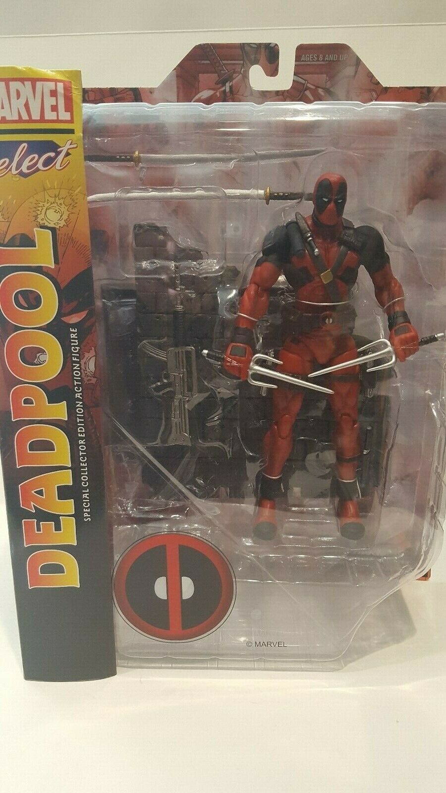 2015 MARVEL DIAMOND SELECT DEADPOOL X-MEN COLLECTIBLE ACTION FIGURE FIGURE FIGURE NEW IN BOX d46