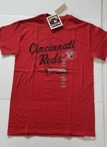Cincinnati-Reds-Cooperstown-Collection-Mens-T-Shirt-Size-S-M-L-XL-XXL-NWT