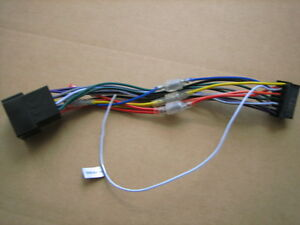 sony genuine power loom harness cord xav 660bt xav 770bt xav 60 xav rh ebay com Sony XAV 68Bt Sony XAV-60 Wiring Harness