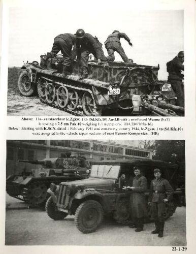 Leichter Zugkraftwagen 1t Panzer Tracts No.22-1
