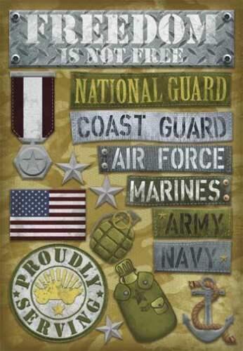Militari Cartoncino Adesivi-u scegliere-ALBUM CARD Making Eroe Libertà Marines