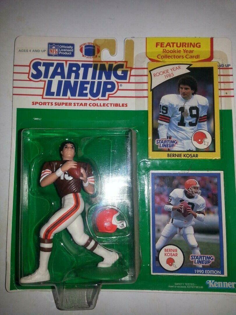1990 Kenner Starting Lineup NFL BERNIE KOSAR Marronee JERSEY MOC SEALED SUPER RARE