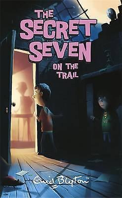1 of 1 - SECRET SEVEN ON THE TRAIL - ENID BLYTON -PAPERBACK -LIKE NEW - ADVENTURE FICTION