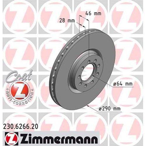 ZIMMERMANN Bremsbelagsatz 230.6266.20 Iveco
