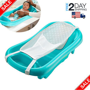 Baby-Infant-Bath-Tub-Safety-Seat-Bathing-Newborn-Shower-Mesh-Sling-Toddler