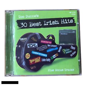 Tom Dunne's 30 Best Irish Hits 2xCD plus Bonus Tracks EX Free Shipping Ireland