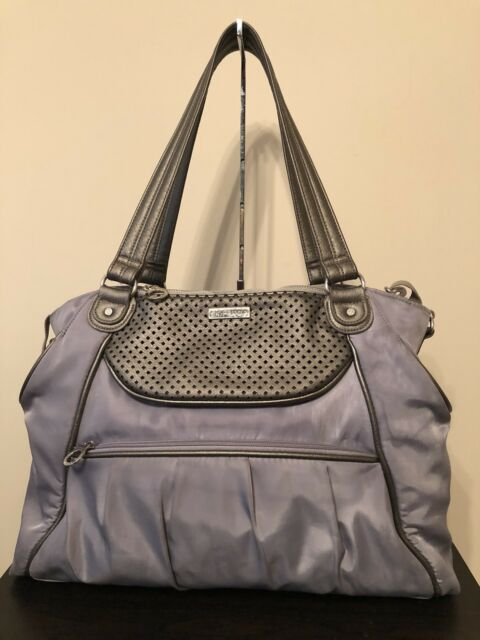 0bc9597c4cdc Skip Hop Studio Select Day-to-Night Diaper Pewter Shoulder Bag