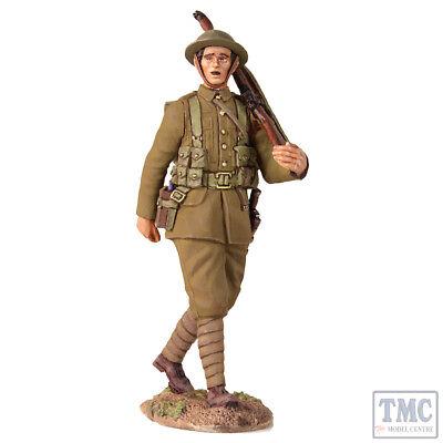 B23077 W.britain 1916-17 British Infantry Marching _1 World War I Bloedcirculatie Activeren En Pezen En Botten Versterken