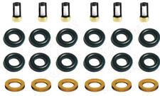 FUEL INJECTOR REPAIR KIT O-RINGS FILTERS 1987-1990 JEEP 4.0L L6 53003956