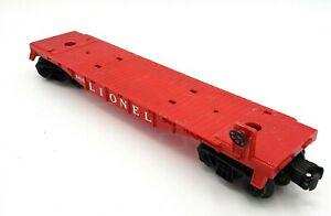 LIONEL-TRAINS-6424-11-ALLIS-CHALMERS-DOZER-FLAT-CAR-No-6816-W-OUT-DOZER
