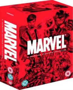 Marvel-Dessin-Anime-Features-Collection-4-Films-DVD-Neuf-DVD-LGD93995