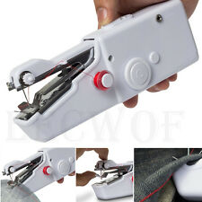 Quick Sewing Machine Singer Portable Stitch Repair Sew Hand Held  Handy Cordless