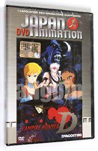DVD-VAMPIRE-HUNTER-D-De-Agostini-2005-Anime-NUOVO-SIGILLATO-RARO-Japan-Animation