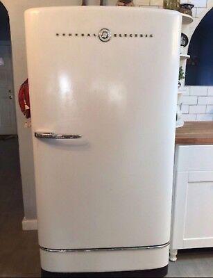 1947 Antique General Electric Refrigerator Good Shape (new compressor &  gasket) | eBay