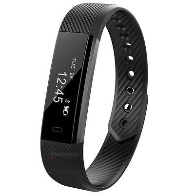 Smart Watch Bracelet Wristband Pedometer Fitness Tracker Heart Rate Monitor LOT