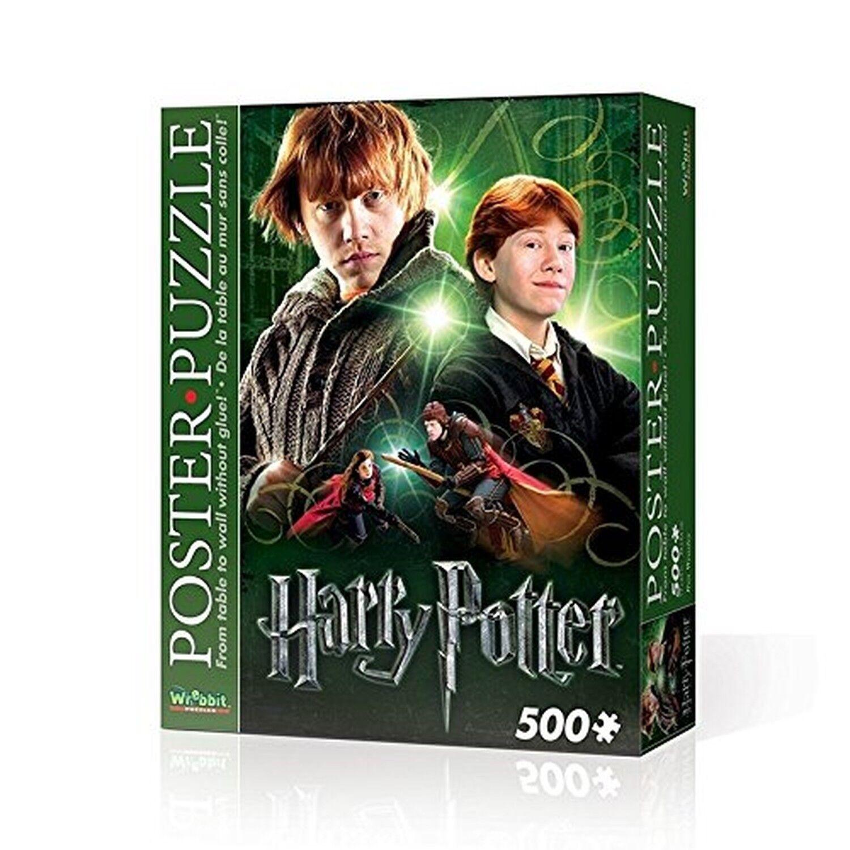 Wrebbit 3D Puzzle Harry Potter Ron Poster Puzzle