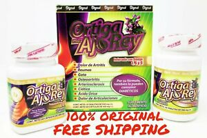 Ortiga-Mas-AJO-REY-Omega-3-6-9-100-AUTHENTIC-2-Bottles-30-Day-Joint-Support