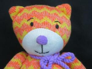 Image Is Loading Midwest Cdk Orange Purple Magnetic Sock Monkey Cat