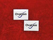 Ovation Guitars TWO Sticker Set.....