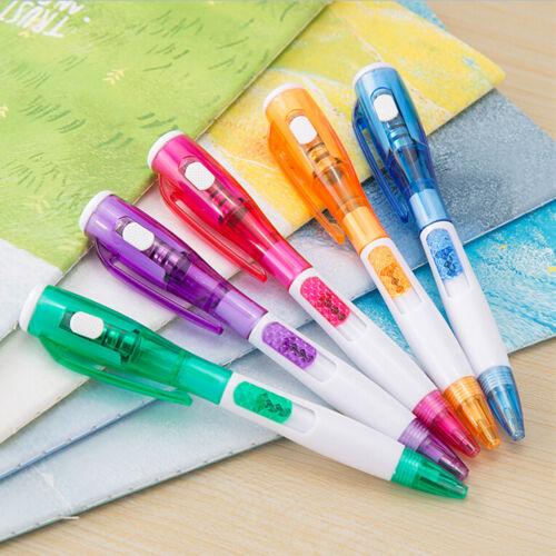Neuheit Kugelschreiber Schreibwaren LED-Leuchten Kugelschreiber Schulbedarf ZP
